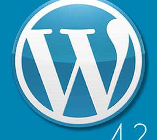 WordPress 4.2  リリース