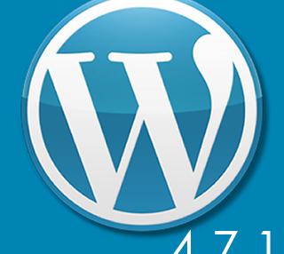 WordPress バージョン 4.7.1 がリリースされました。