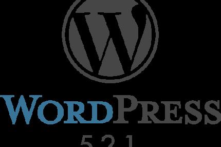 WordPress 5.2.1 メンテナンスリリース